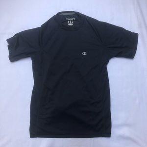 Champion small navy blue workout shirt